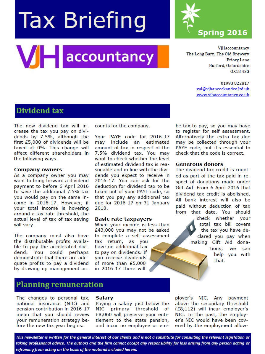 Tax Briefing Page 1